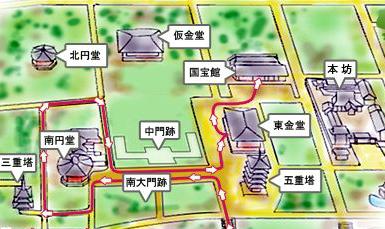 興福寺マップ