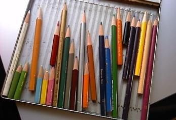 おじちゃんの色鉛筆