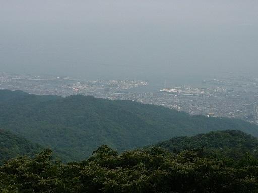 六甲山眺め