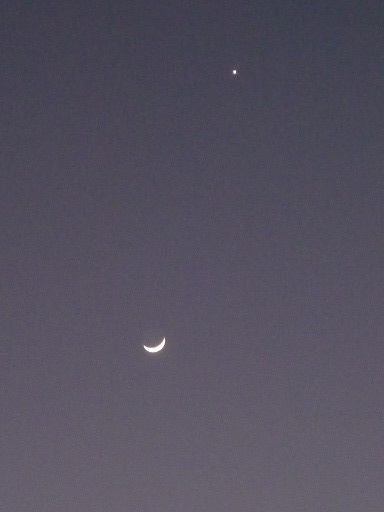 月と金星2