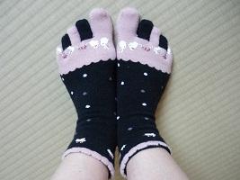 うさぎの靴下