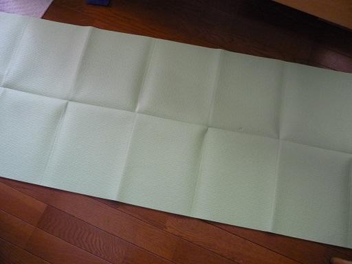 折りたたみヨガマット1